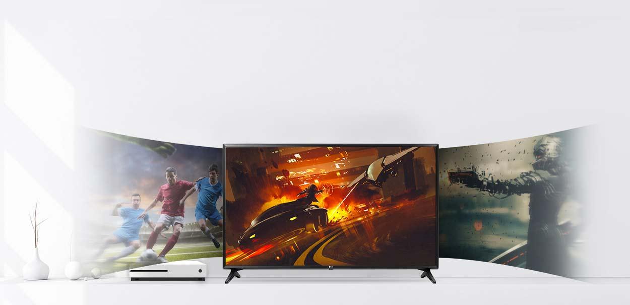 تلویزیون 43 اینچ ال ای دی ال جی مدل 43lk6100
