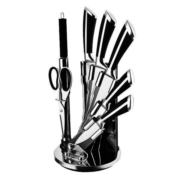 ست چاقوی 8 پارجه استیل جدید دلمونتی مدلDL1540 Delmonti