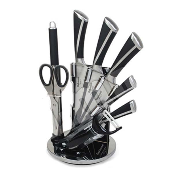 سرویس چاقوی 9 پارچه استیل دلمونتی مدل DL1540