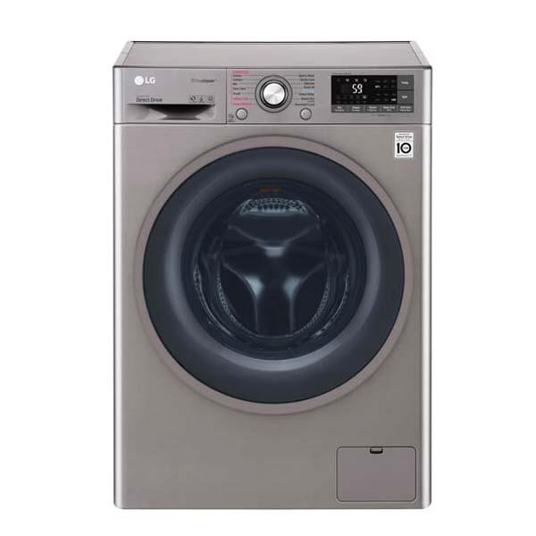 ماشین لباسشویی ال جی 8 کیلویی مدل J6