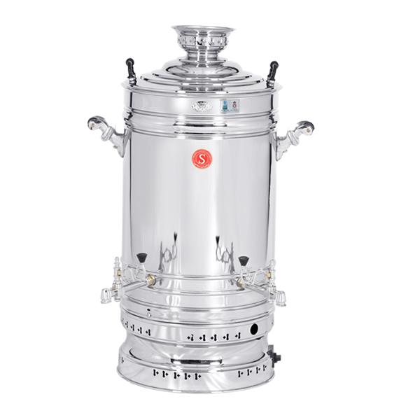 سماور گازسوزی 60 لیتری گروه صنعتی برادران سیفی مدل ظرفیت