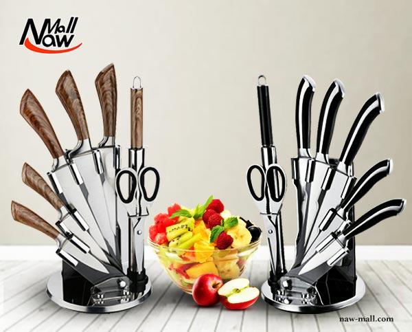 سرویس چاقوی 8 پارچه استیل دلمونتی مدل DL1530 و DL1520