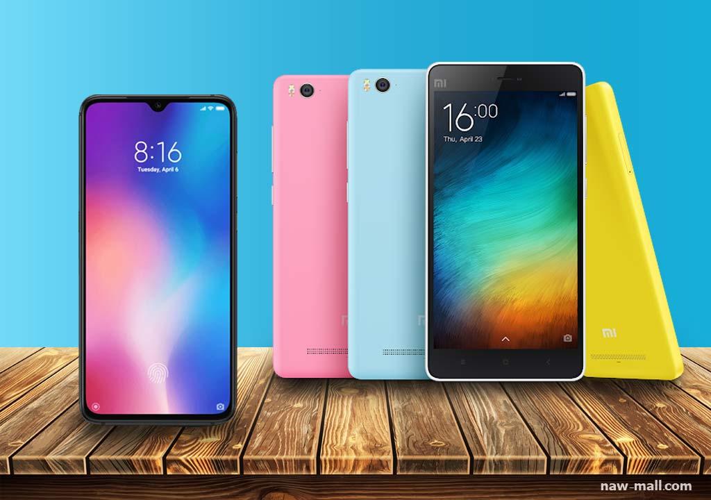خرید انواع مدل گوشی های برند شیائومی در فروشگاه اینترنتی لوازم خانگی ناومال