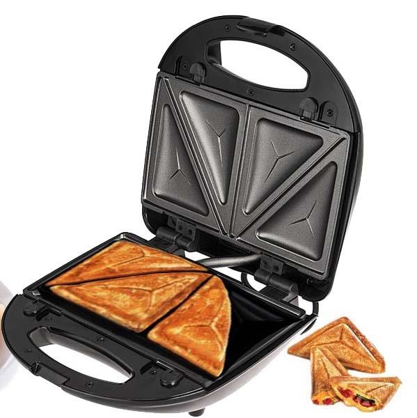 ساندویچ ساز 4 تایی برند دلمونتی مدل DL860