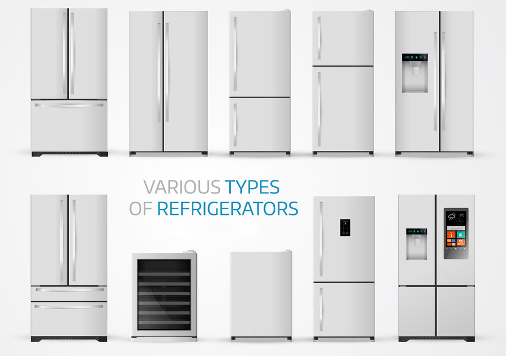 Refrigerators available in the market