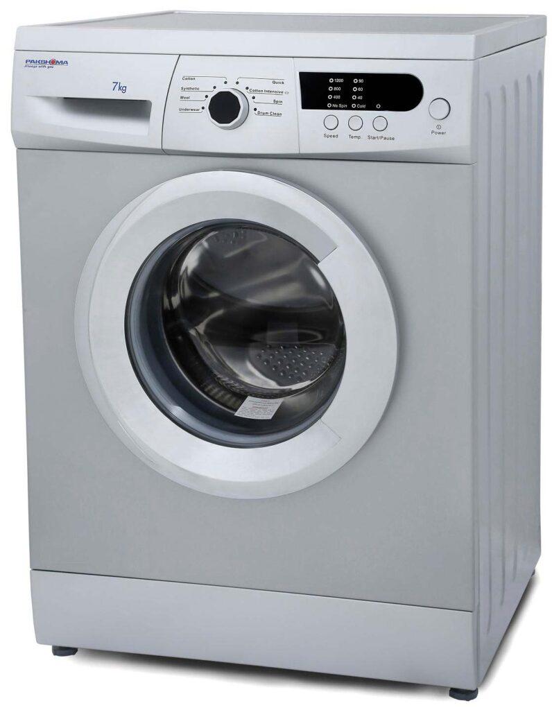 ماشین لباسشویی پاکشوما مدل WFU-74201 ظرفیت 7 کیلوگرم