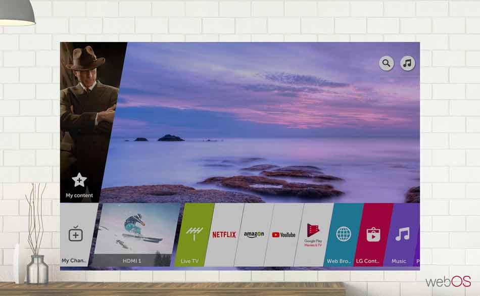 تلویزیون ال جی 55UK6400