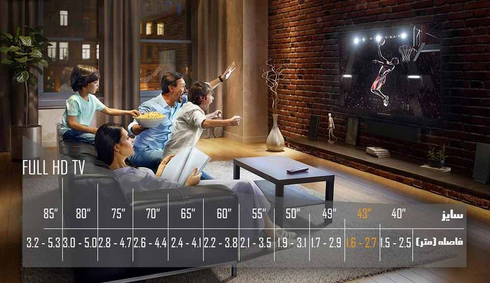 تلویزیون ال ای دی 55 اینچ ایکس ویژن مدل 55XT515