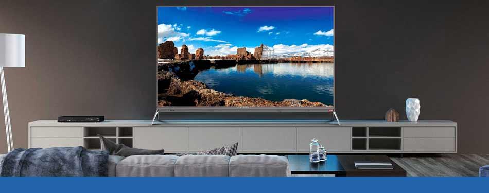 تلویزیون ال ای دی 49 اینچ ایکس ویژن مدل 49XkU635