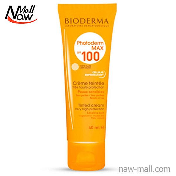 کرم ضد آفتاب SPF 100 بایودرما مدل Photoderm MAX
