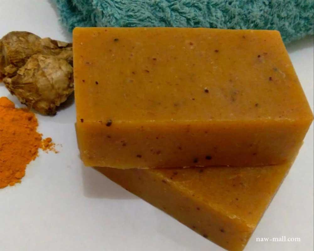 صابون سنتی زردچوبه
