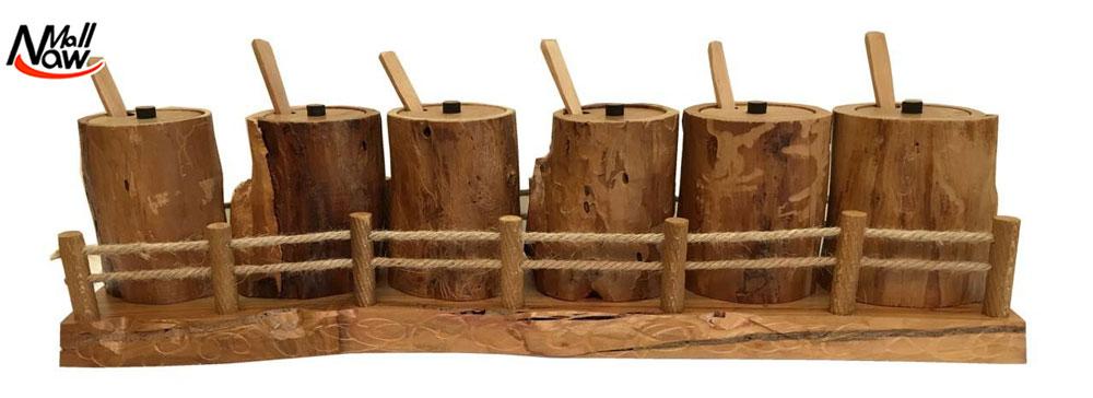 جا ادویه چوبی