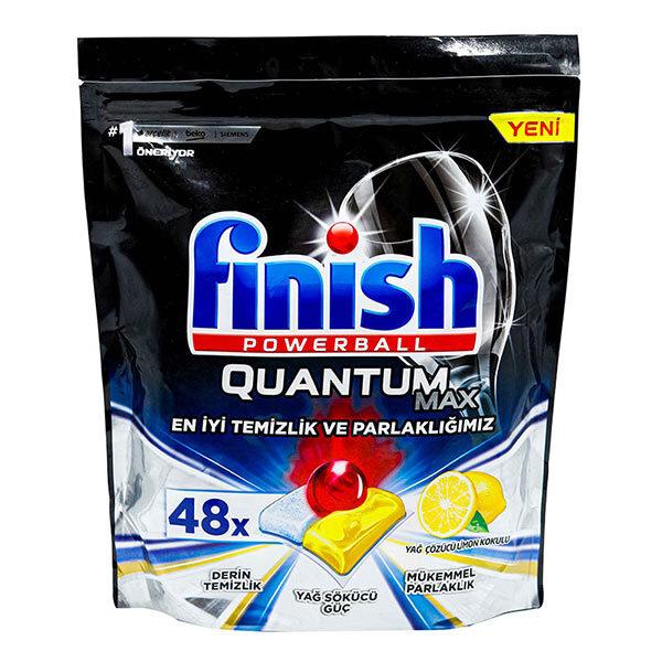 قرص ماشین ظرفشویی فینیش مدل Quantum Max بسته 48 عددی