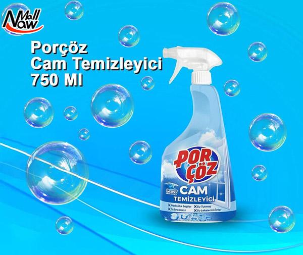 اسپری شیشه پاک کن پور چوز مدل Cam Temizleyici حجم 750 میلی لیتر